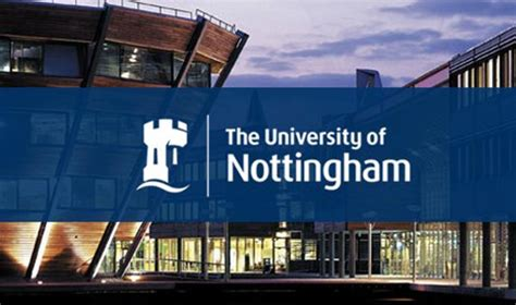 Of Nottingham Mba by Vice Chancellor S International Scholarship For Research