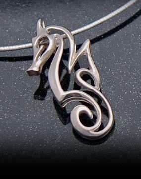 Sterling Silver Seahorse Necklace seahorse necklaces