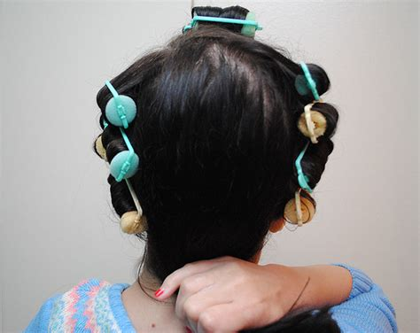 hairstyles for over 70 with cowlick at nape how i do a late 30s early 40s sponge roller set and avoid