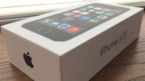 Iphone 5s 16 Gb Gray Free New Bb 9350 apple iphone 5s space gray unboxing