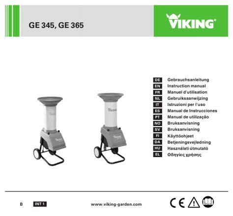 viking ge 345 2740 viking ge 345 viking ge 345 garden chipper norwood