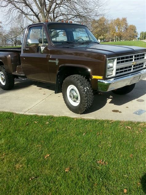 chevy bed 1985 k30 3500 chevy gmc 1 ton 4x4 stepside long bed