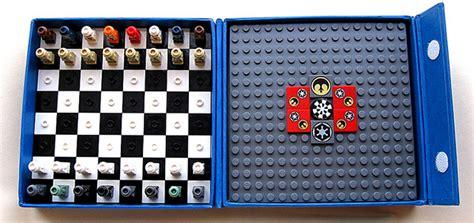 diy chess sets micro chess set lego star wars micro chess set by avi solomon 4 technabob