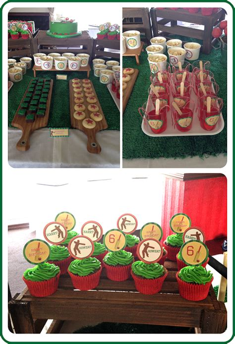 themes ckirckit games cricket party theme birthday party ideas photo 3 of 5