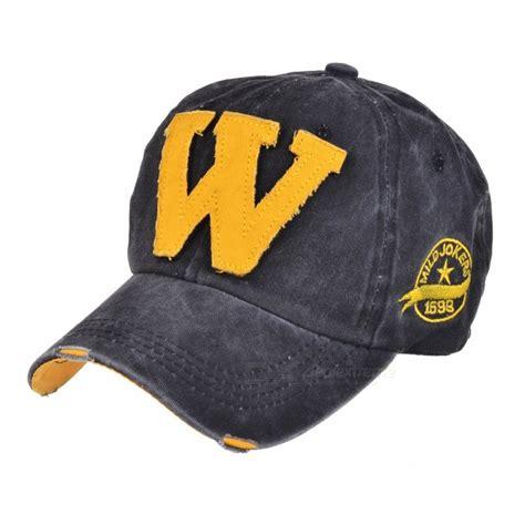 fashionable unisex w baseball cap vintage hat blackish