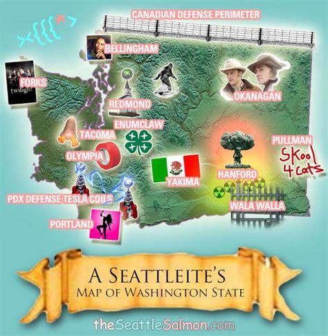 seattle map joke seattle wa 26 pics