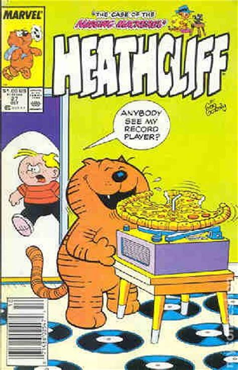 Comic Heathcliff Vol 1 No 24 1988 comic books in pizza