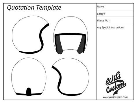 bike helmet design template custom paint helmet bike design process wild custom
