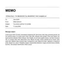 Memo Template Memo Format Bonus 48 Memo Templates
