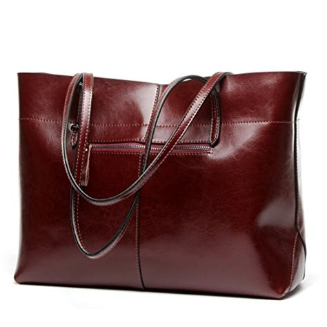 Tas Handbag Import Fashion 676 Wine covelin s handbag genuine leather tote shoulder bags import it all