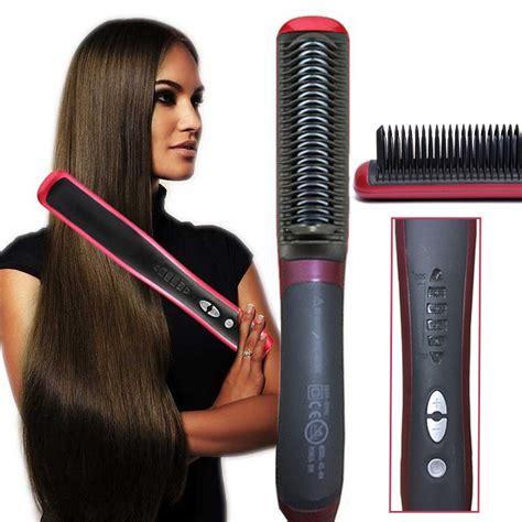 New Fast Hair Straightener Asl 908 stylish fast hair straightener and brush dealistan