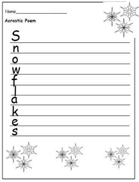 snowflake writing paper snowflake writing paper grade free