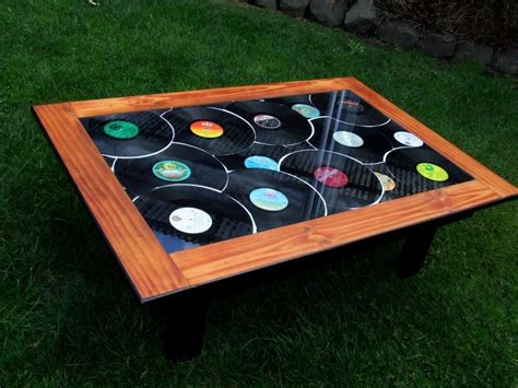 records new coffee table by goddahavefun
