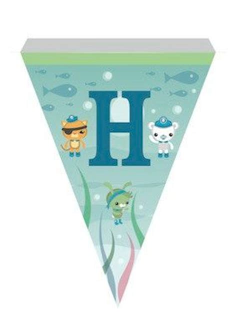 octonauts printable banner the octonauts printable a to z bunting celebration
