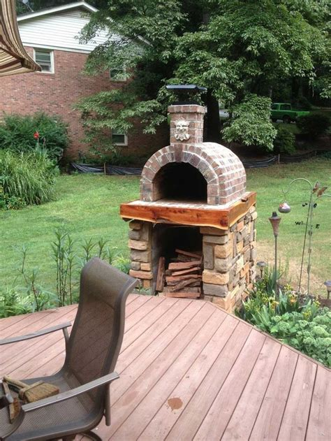 pizza oven for backyard the shiley family wood fired brick pizza oven in south