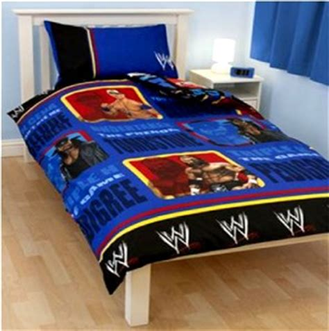 john cena bedroom decor wwe trio john cena hhh undertaker single duvet set quilt