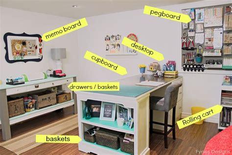 craft room organizing ideas fynes designs fynes designs - Craft Room Table Ideas