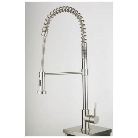kitchen faucet stainless steel finish