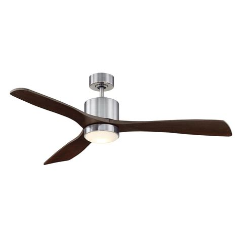 Filament Design 52 In Led Indoor Outdoor Brushed Pewter Pewter Ceiling Fan