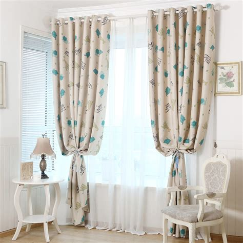 Funky Elephant Beige Kids Room Nursery Curtains Nursery Curtains