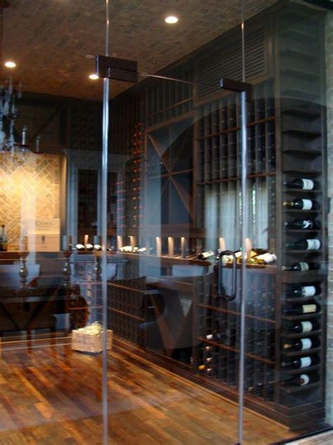 Glass Wine Cellar Doors Glass Custom Wine Cellar Door Orange County Contemporary Wine Cellar Orange County By