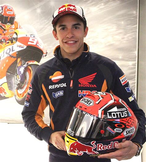 biography of marc marquez marc m 225 rquez shoei helmets accessories