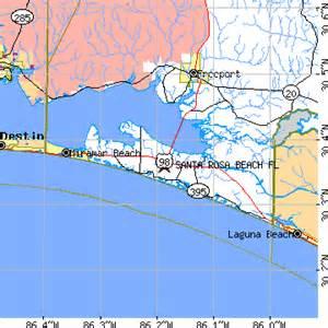 Santa Rosa Florida Map by Santa Rosa Beach Florida Fl Population Data Races