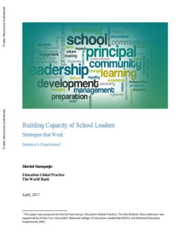 leading change together developing educator capacity within schools and systems books building capacity of school leaders strategies that work