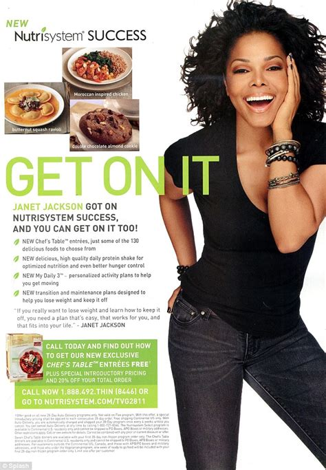 Janet Jackson New Weight Loss Effort And Diet by Janet Jackson Reveals That She Is The New Of Weight