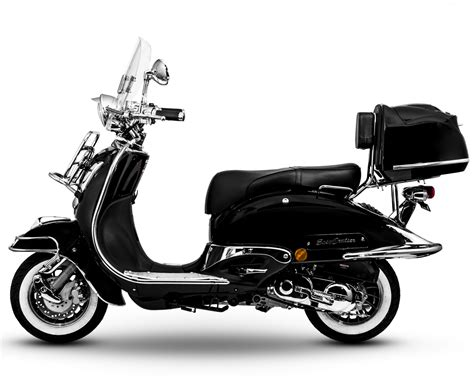50ccm Motorrad Cruiser by Easycruiser Schwarz 125 Ccm