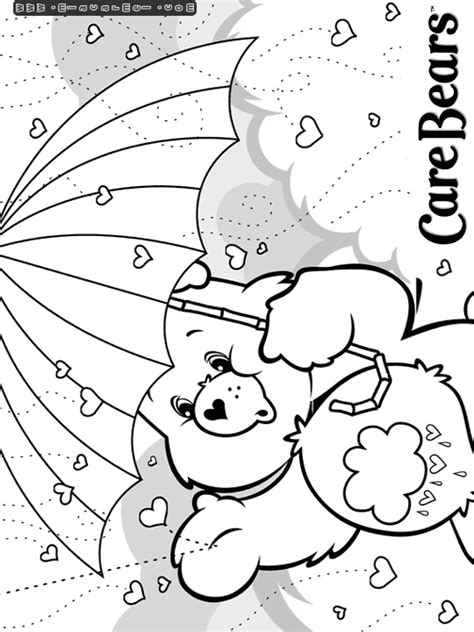 coloring pages of grumpy bear care bears coloring pages care bears coloring pages
