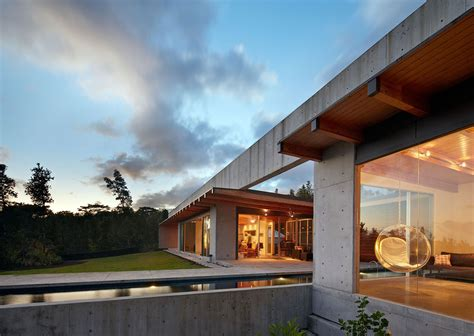 glass and concrete house concrete and glass house in pahoa hawaii
