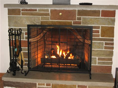 Vented Gas Fireplace Inserts by Portfolio Fireplace Creations