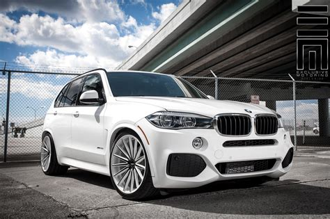 custom bmw x5 alpine white bmw x5 on vossen vfs2 wheels