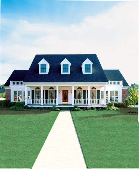 southern colonial house plans elevation of cape cod colonial country southern house plan 98369 culture scribe
