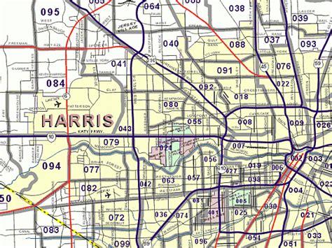 Harris County Zip Code Map Car Interior Design