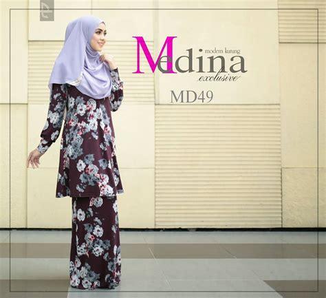 Menggosok Baju In baju kurung moden lycra medina iv mesra penyusuan saeeda collections