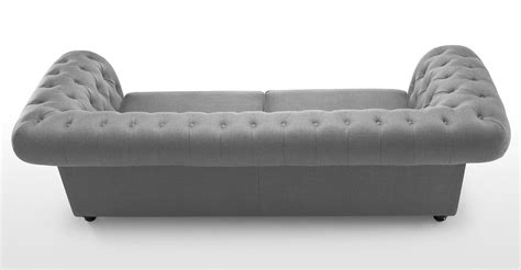 Chesterfield Sofa Grey Grey Chesterfield Sofa Bed Brokeasshome