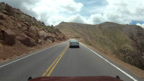 drive up pikes peak pikes peak the drive up time lapse youtube