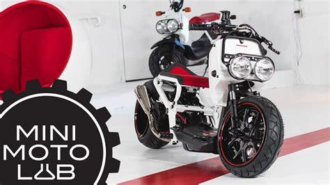 honda motorcycles canada honda ruckus build part 1 mini moto lab x honda