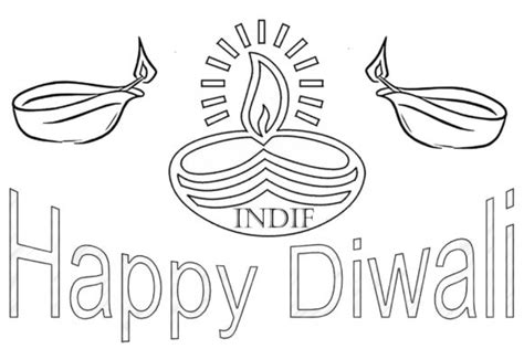coloring pages knockout diwali coloring pages for kids