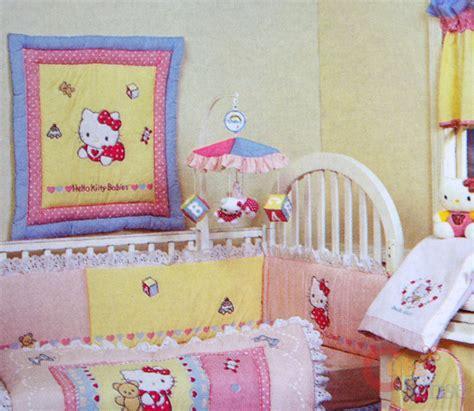 hello kitty crib bedding sanrio hello kitty musical mobile baby bedding crib ebay