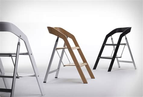 Scandinavian Bookcase Elegant Furniture Piece With Two Functions The Stepladder