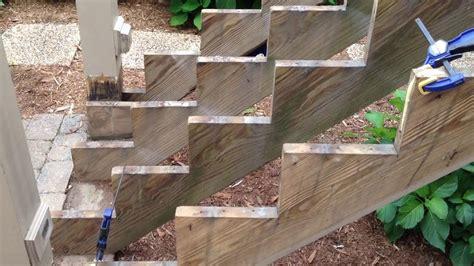 repair decks stairs wood rot  stronger