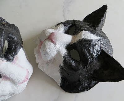 How To Make A Paper Mache Cat - small canvases october 2012