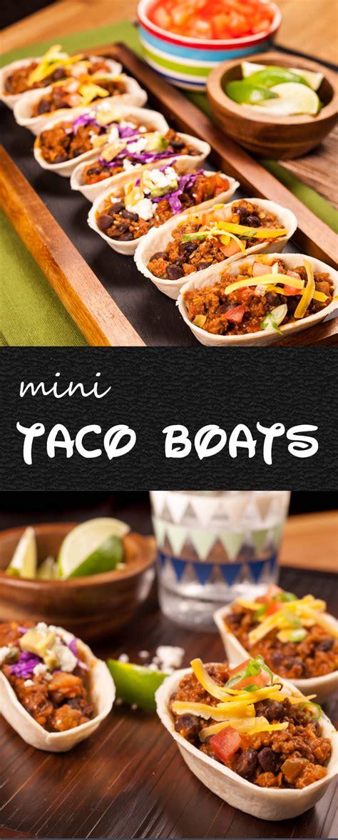mini taco boats recipe one skillet mini taco boats recipe what s for dinner