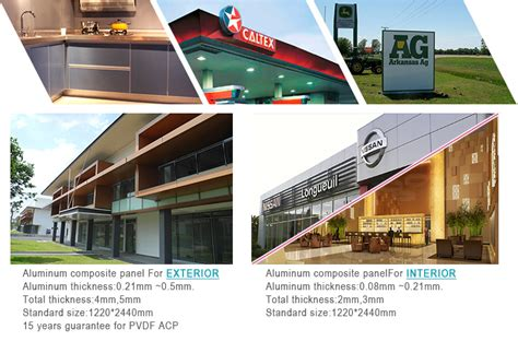Acp Furniture by Aluminum Composite Panel With Brush Finish Strong Impact