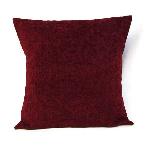 Burgundy Pillow Covers by Sale Burgundy Pillow Cover Home Decor Decorative Throw Toss