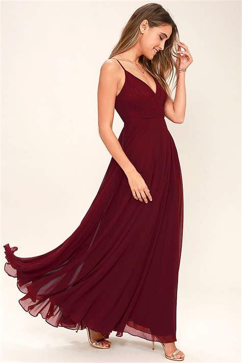 wine colored maxi dress best 25 wine dress ideas on wine dress