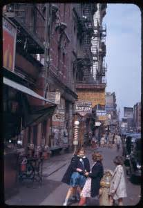 nyc new york color photography vintage nyc 1950s retro new york history